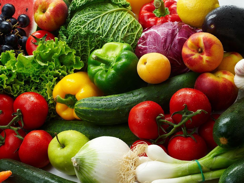 Aquatouch przy warzywach i owocach - zastosowanie
